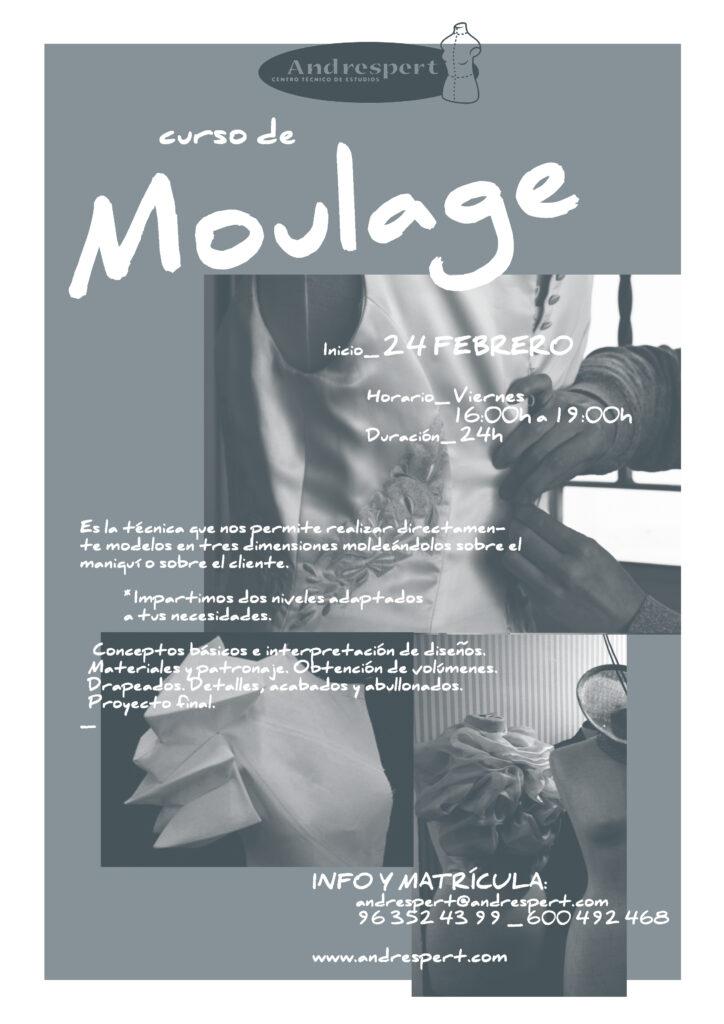Cartel Curso Moulage