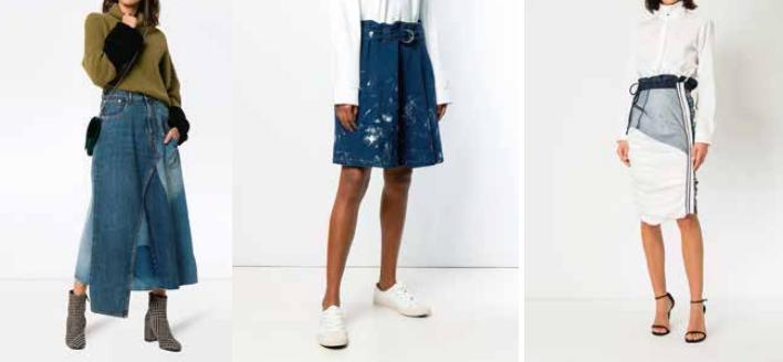 Faldas tendencias