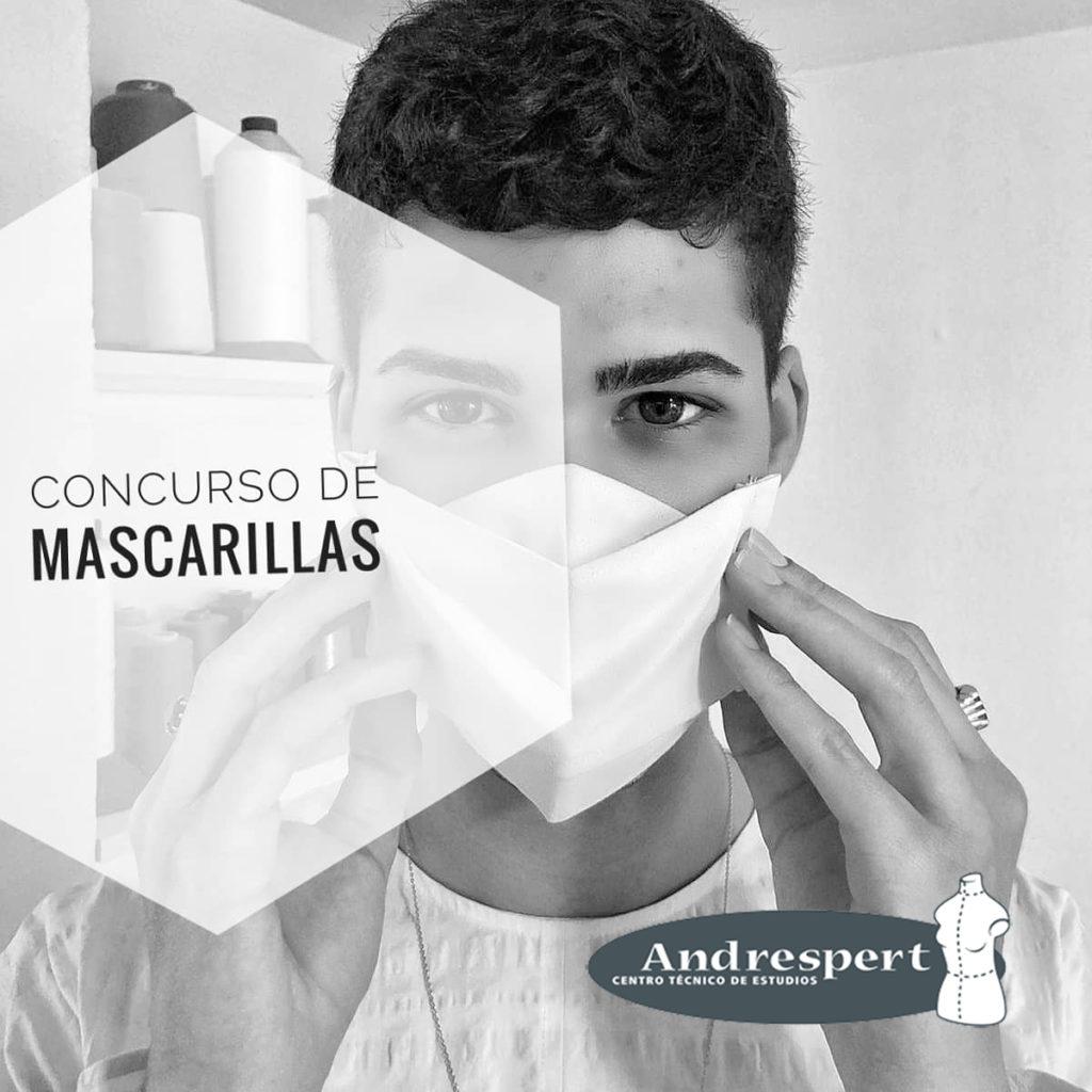 Creatividad, diseño y seguridad en el concurso de creación de mascarillas de Andrespert