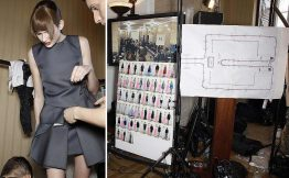 fitting desfile de moda